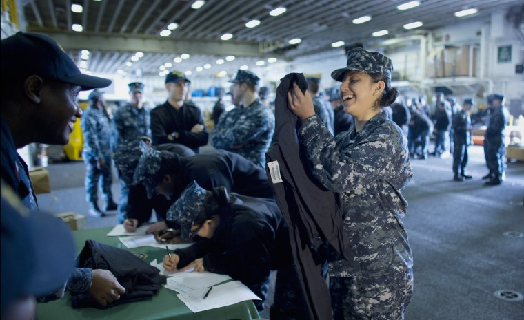 Navy begins distributing flame-resistant clothing