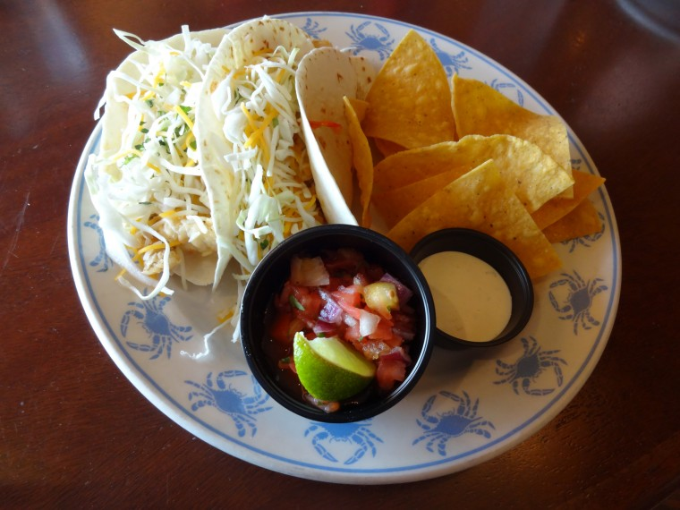 Fish tacos a tasty choice for linner for Flounder fish tacos