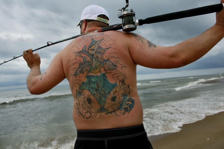 рыболовные татуировки