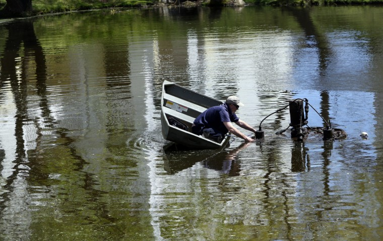 For va beach company cleaning ponds a sparkling success for Pond maintenance companies