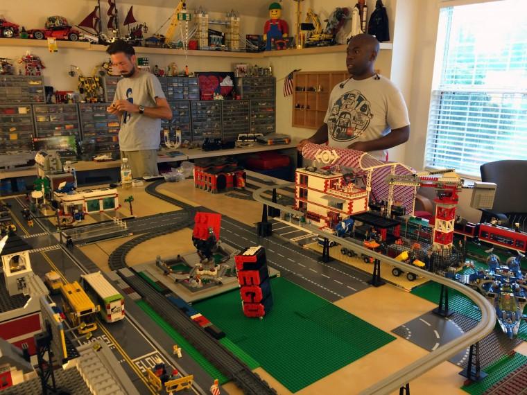 Adult LEGO lovers unite at Children's Museum