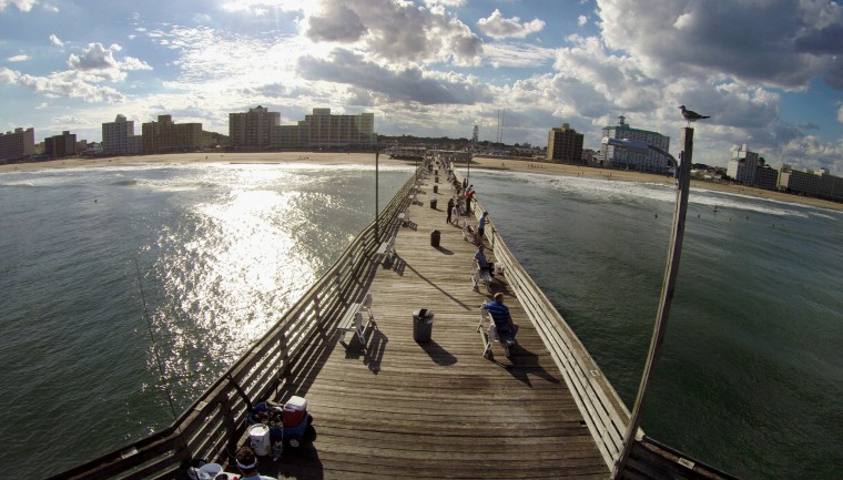 Va beach council grants fishing pier operator franchise for Va beach fishing pier