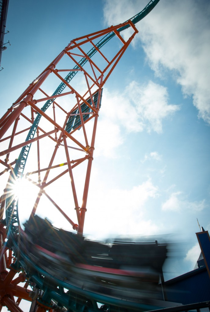 Tempesto Interrupted New Coaster At Busch Gardens