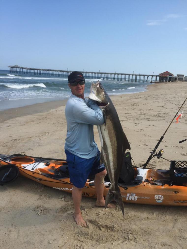 Small Boat Big Prize Kayak Angler Lands Cobia