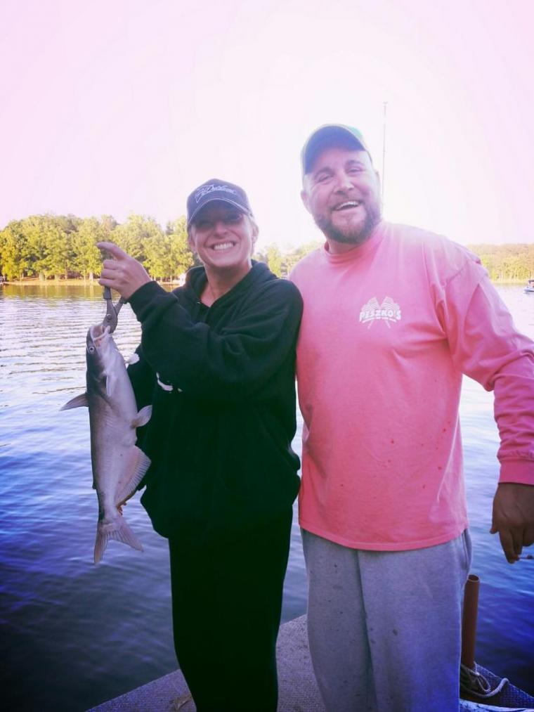 Right from her first catch she was hooked hamptonroads for Hampton roads fishing report