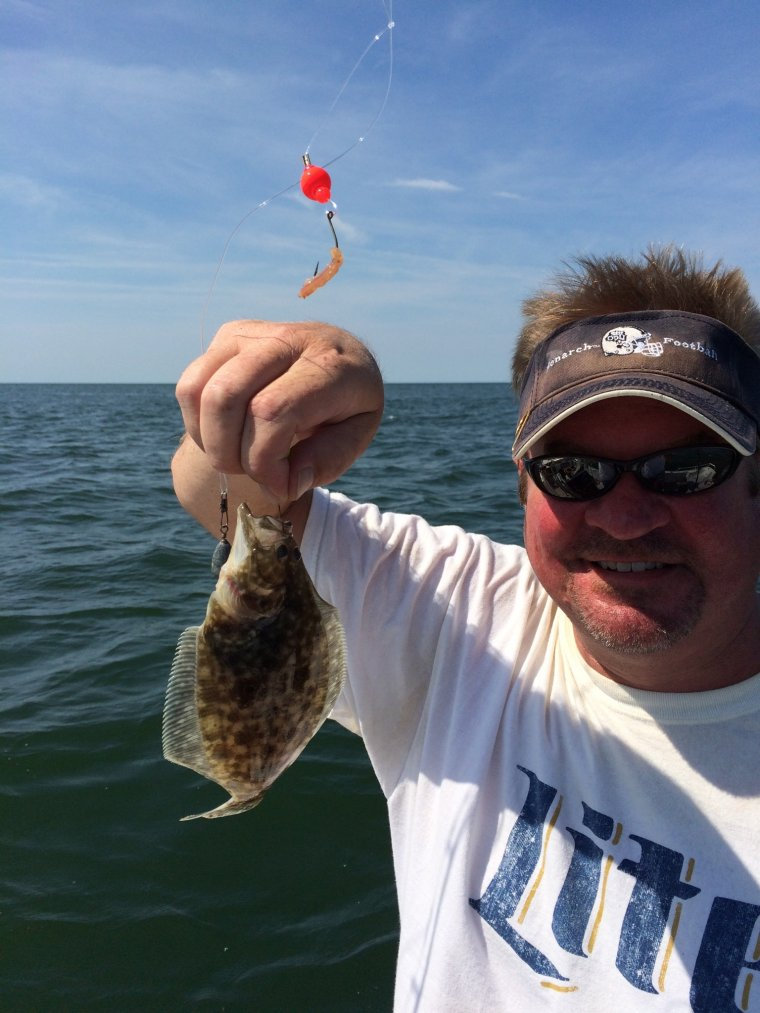 Tiny flounder is the one that didn 39 t get away for Hampton roads fishing report