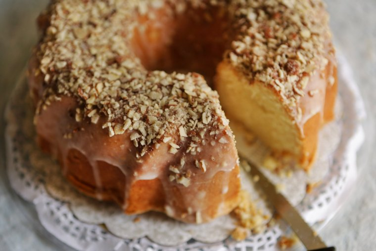 Donna Brown's winning entry in the pound cake, glazed category of The ...