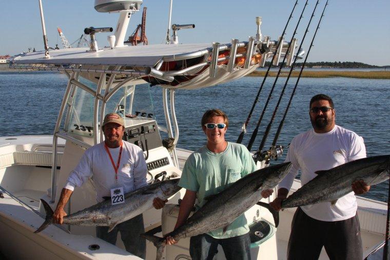 Finer In Carolina Anglers Make Their Mark In Kingfish