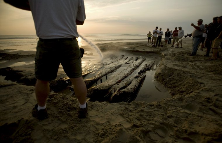 The oldest shipwreck ever found along the North Carolina coast could be a 28-gun British naval vessel.