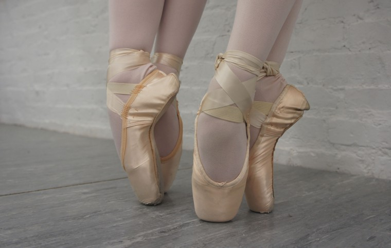 Old Pointe Shoes 10-year-old joins bigger sis