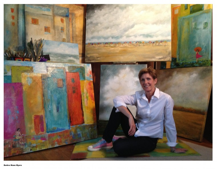 Flooded out of new orleans artist now has a beach palette for Craft shows in hampton roads