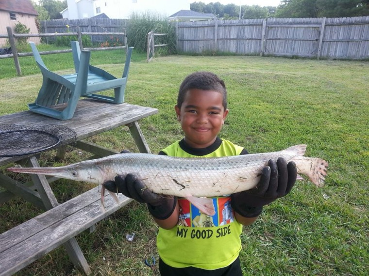 For boy fishing is easy as going to grandpa 39 s house for Hampton roads fishing report