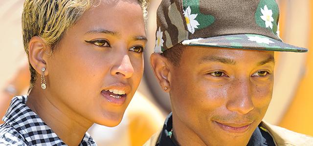 """Pharrell married; tongue cancer; RhiRhi, """"crimebuster ..."""