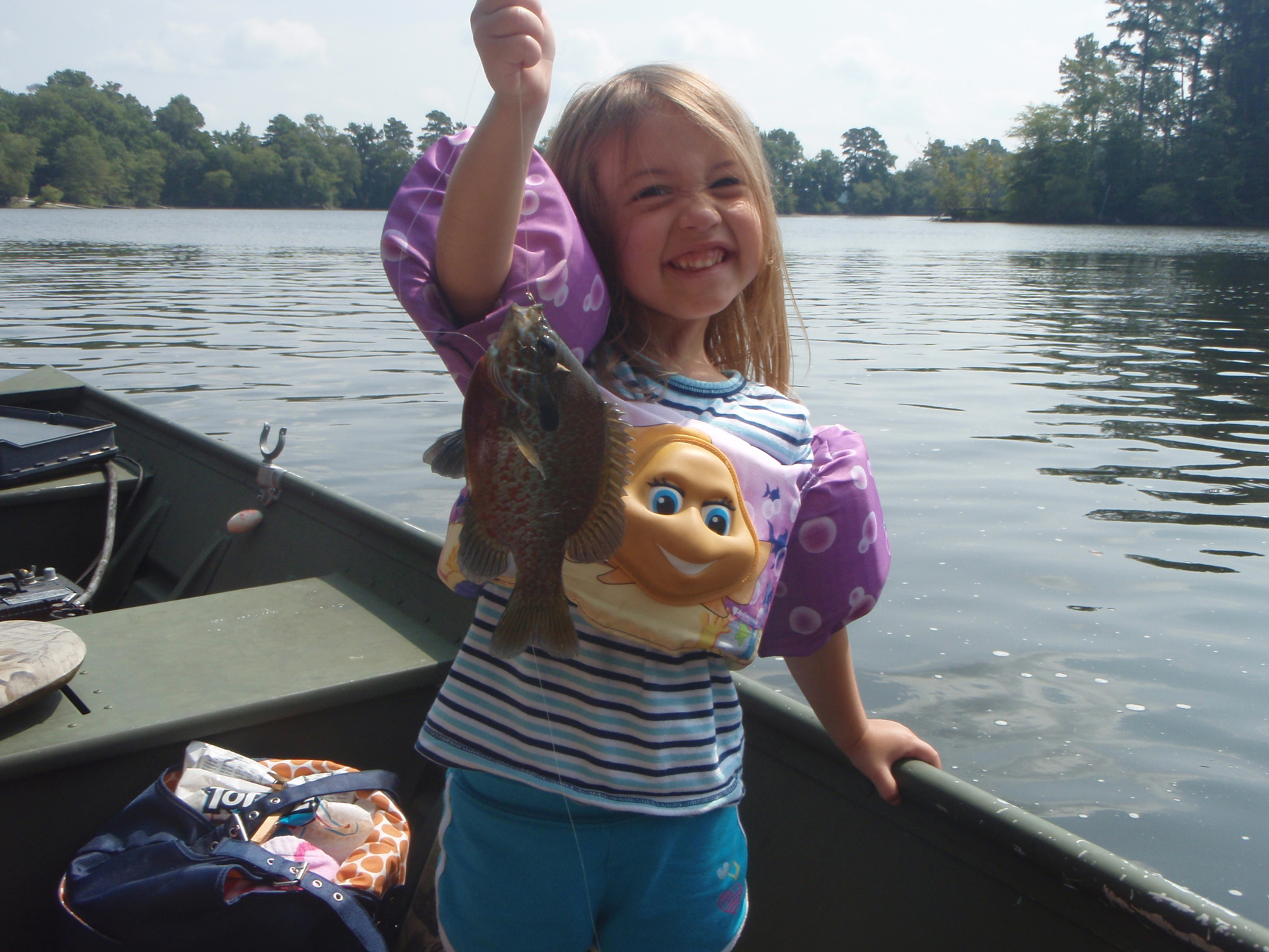 Girl 4 Takes The Bait On Fishing And Is Now A Natural