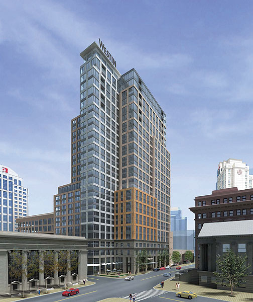 Westin In Norfolk To Be Second-tallest Building Downtown