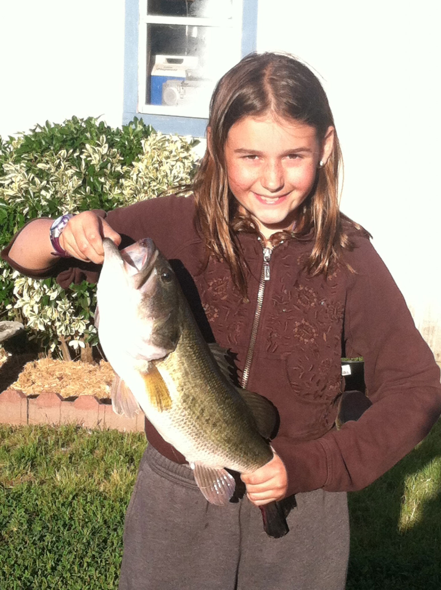 For Girl 11 Fishing Is Way To Spend Time With Father