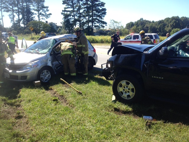whaleyville women Butler's passenger car, a dodge minivan and a kia passenger car were involved  in the crash that occurred at 2:36 pm in whaleyville, md.