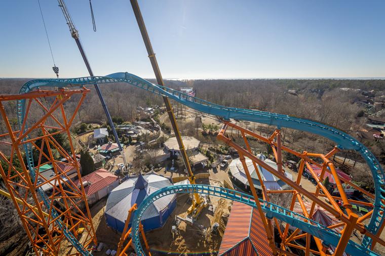 Busch gardens 39 newest coaster opens this weekend - Busch gardens williamsburg prices ...