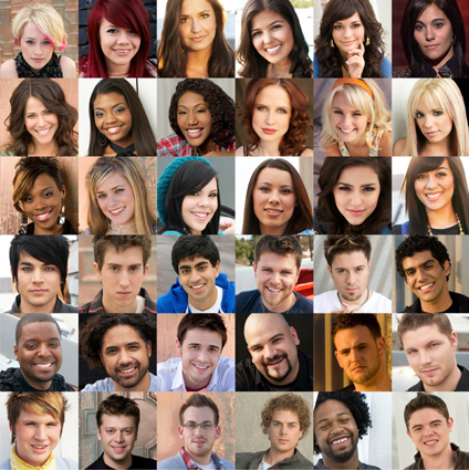 Season 8 American Idol Contestants Top 12 American Idol Season 8 Top 12