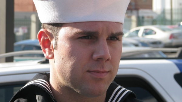 Petty Officer 2nd Class Jason Murphy was awarded the Navy and Marine Corps Medal for his role in saving the life of a sailor whose motorcyle crashed