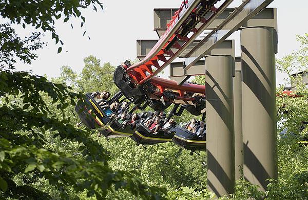 Busch Gardens Will Close Big Bad Wolf Coaster