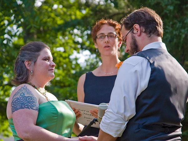 Sara pilot wedding