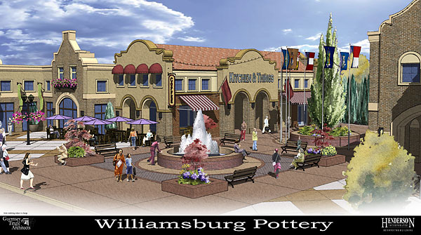 Williamsburg Pottery To Move Into New Retail Complex