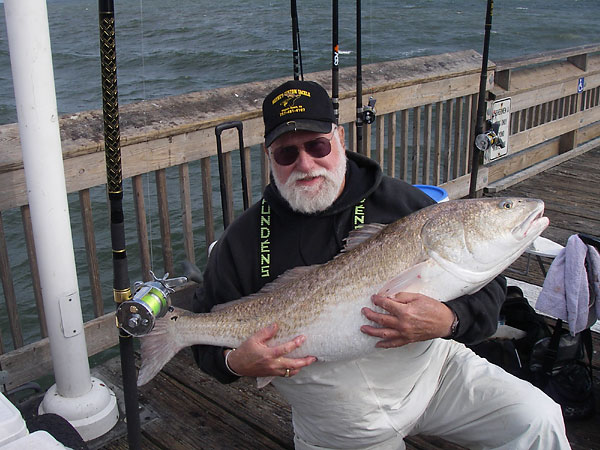 Off The Hook Angler Back On Piers Doing What He Loves