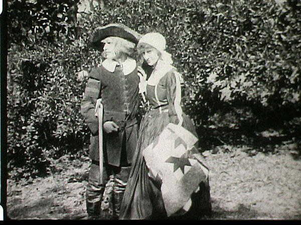 "A scene from ""The Lost Colony,"" a silent film from 1921 that is being clearly seen for the first time in decades since an old version emerged during a storage-room cleanup recently. The film has been digitized, and historians are getting a fresh look at a 90-year-old interpretation of the famous story. (The Roanoke Island Historical Association)"