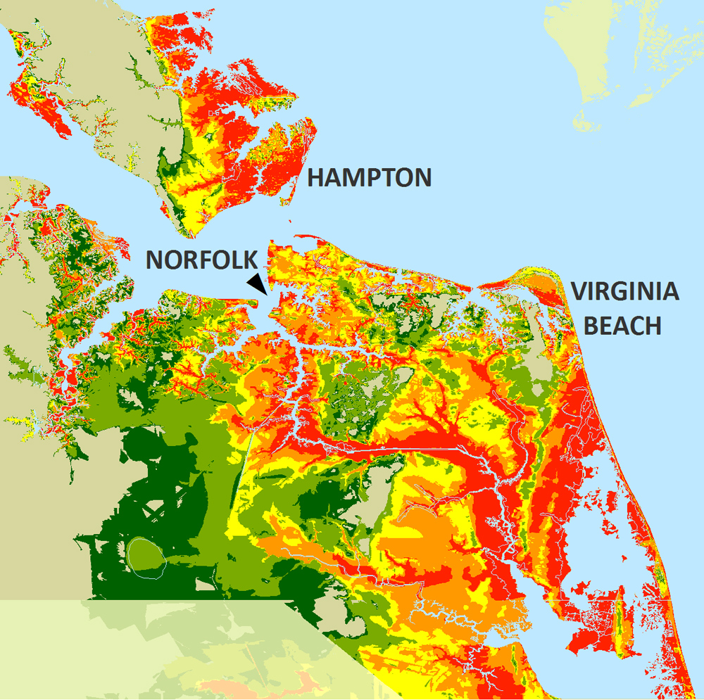 Flood Areas Virginia Beach
