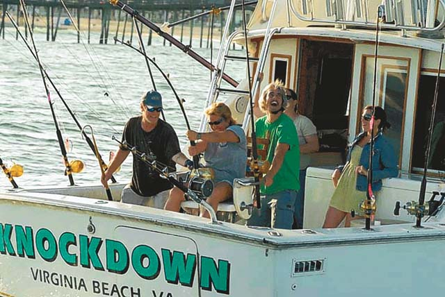 For rent a day of play in hampton roads hamptonroads for Fishing charters hampton va