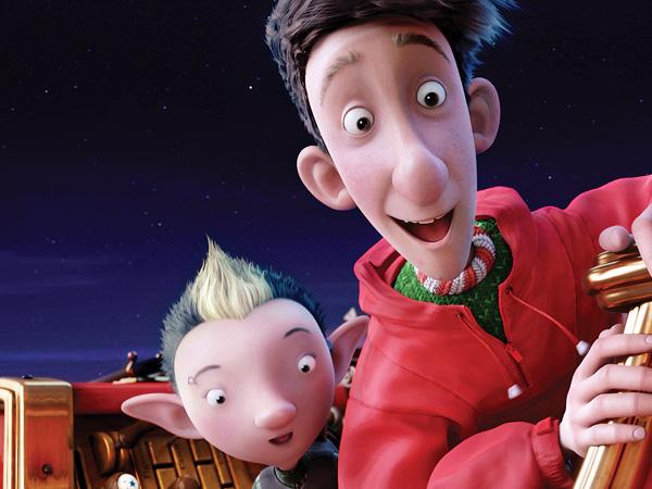 Pop Culture Scribe Arthur Christmas Even Santas Need Help Getting Into The Christmas Spirit