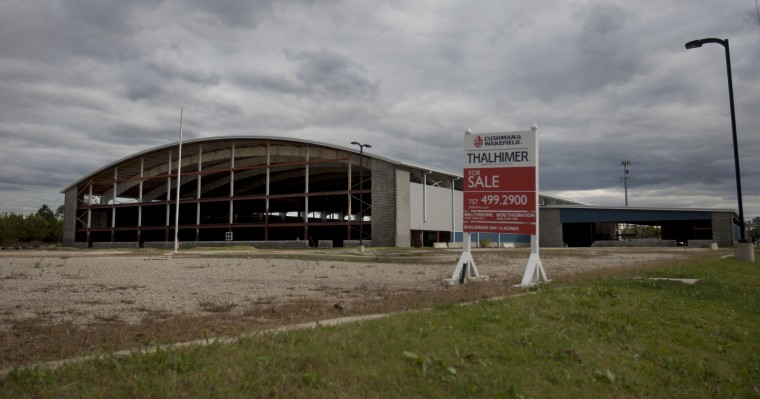 Virginia Beach sports complex unfinished, up for sale | HamptonRoads ...