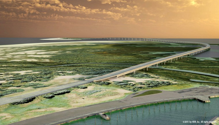 New bonner bridge to address old problem hamptonroads for Oregon inlet fishing center camera