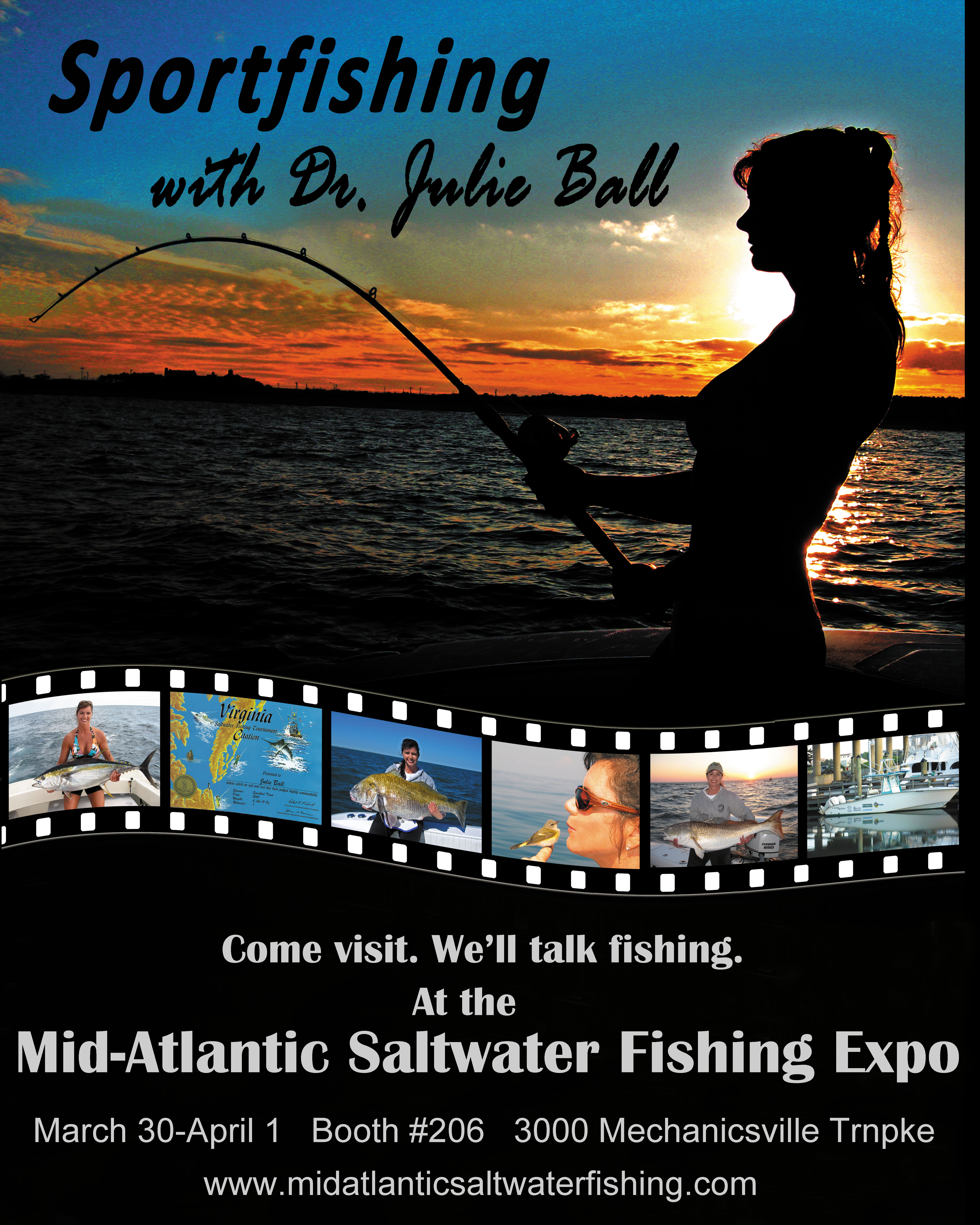Let 39 s talk fishing at the expo for Hampton roads fishing report
