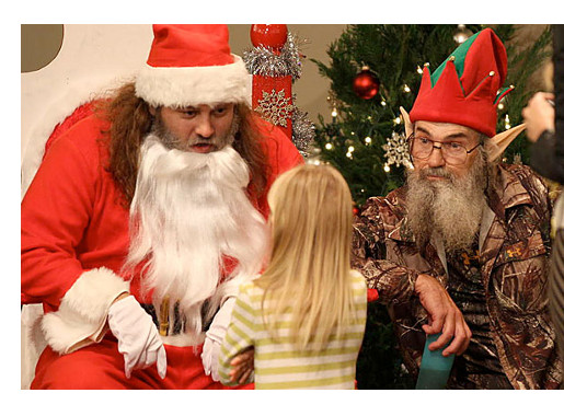 Willie and Si Robertson Christmas