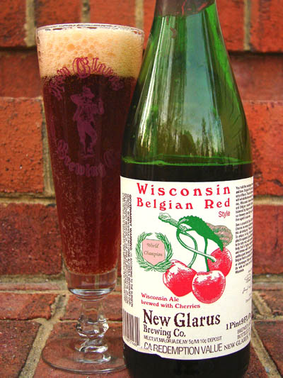 Review New Glarus Wisconsin Belgian Red Hamptonroads
