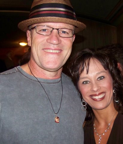 Michael Rooker and wife
