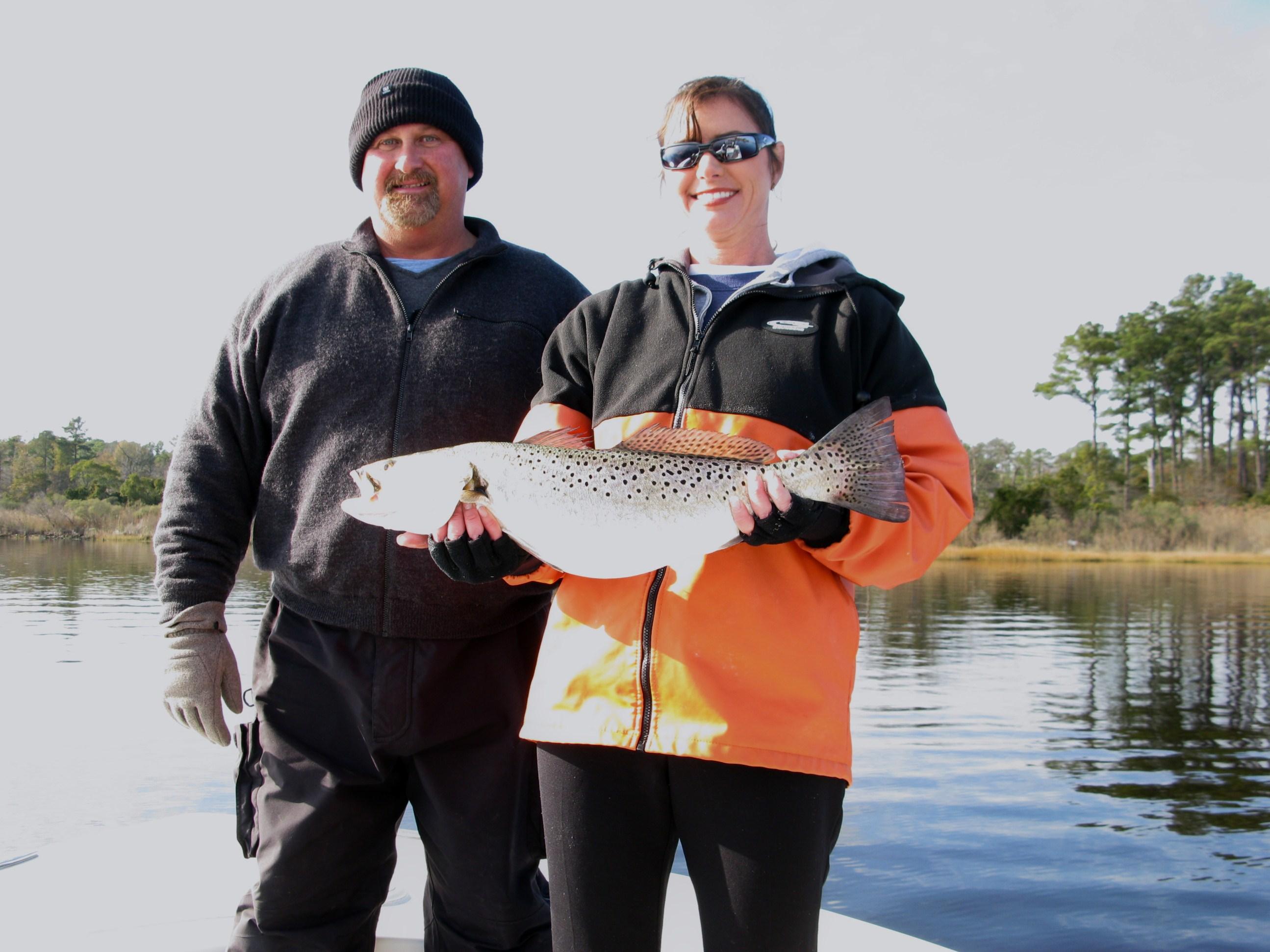 Elizabeth River World Class Trout