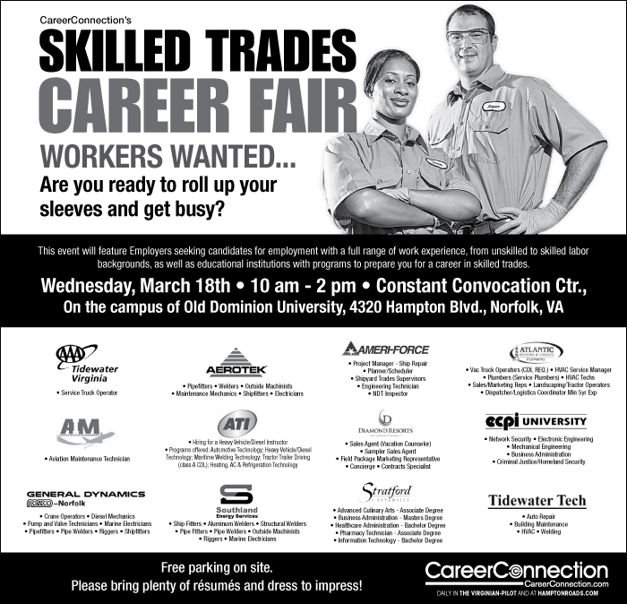 CareerConnection Skilled Trades Career Fair
