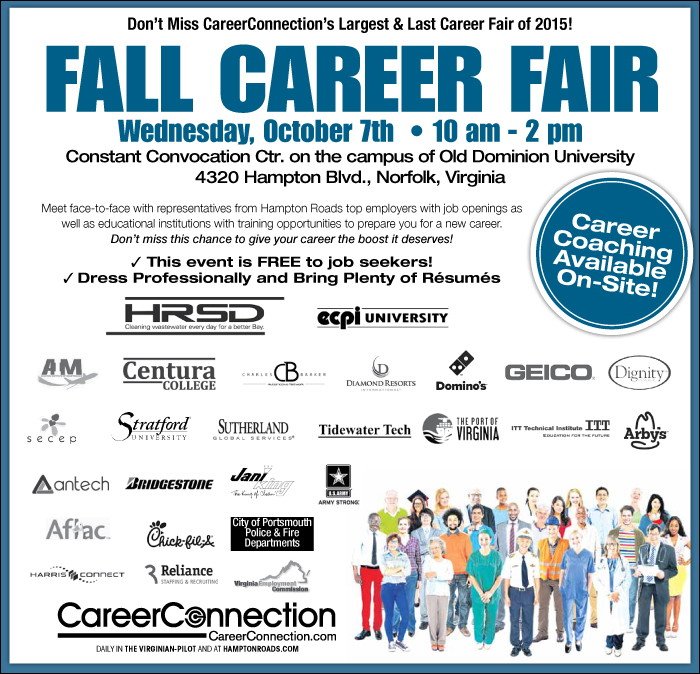 Fall Career Event 2015 CareerConnection