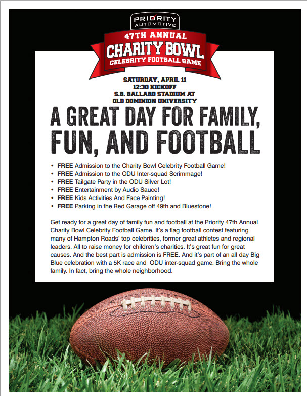 Joy Fund Charity Bowl Game