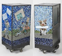 Mosaic Tile Box
