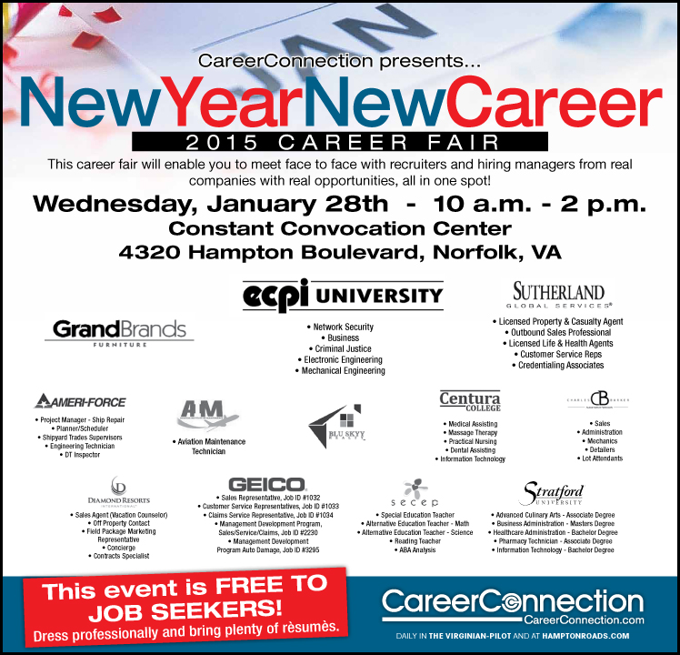 CareerConnection's New Year New Career Event