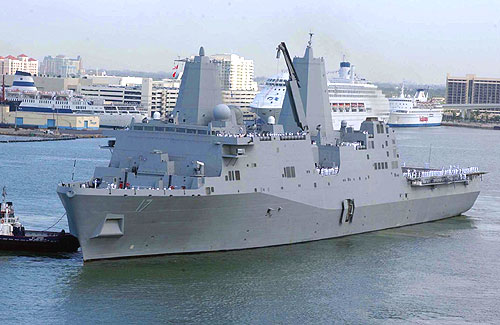 New Navy ship San Antonio found to be rife with flaws   HamptonRoads