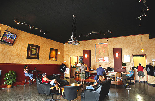 Tattoos Parlors at the Mall Fuzion Ink is the first legal tattoo shop to