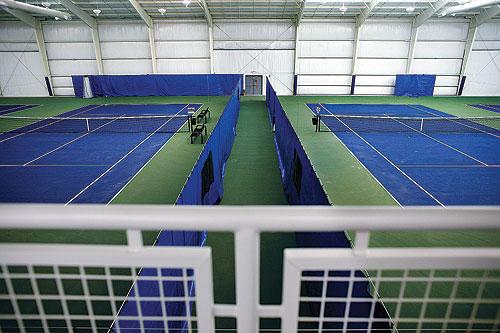 picture of court at Folkes/Stevens Tennis Center 4501 Parker Avenue Norfolk VA