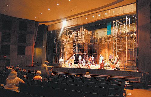... performing arts has been at Willett Hall since the festival began five