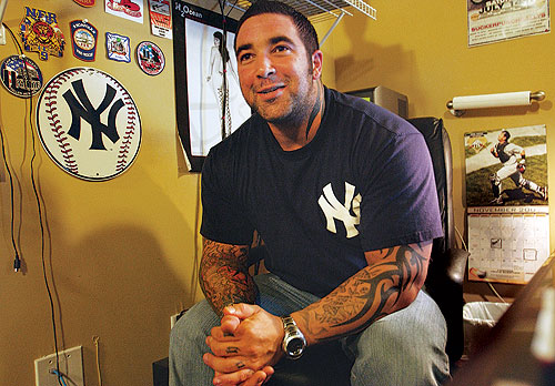 Former police Officer Tommy Glaser Jr. has opened a tattoo shop with his