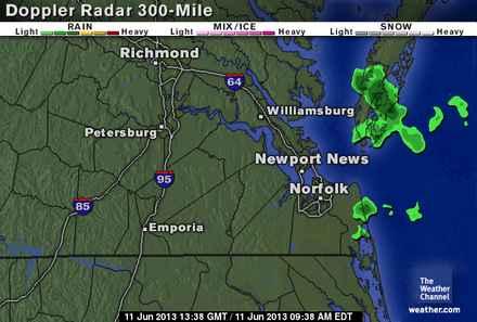 Weather Maps Hamptonroads Com Pilotonline Com